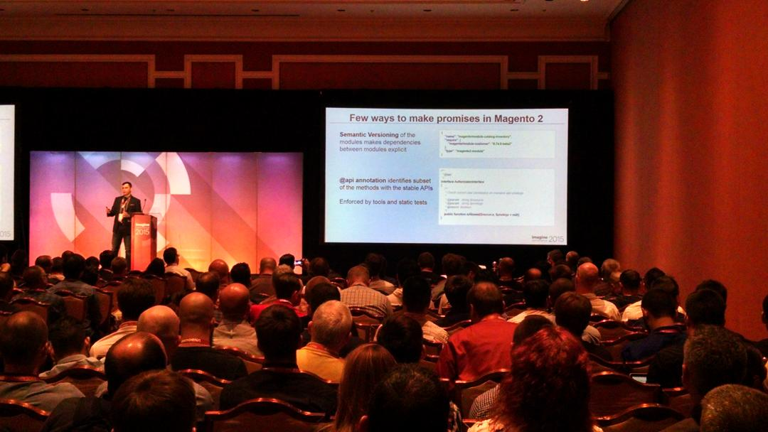 barbanet: #magento2 para nos los devs. #ImagineCommerce http://t.co/ClWNZSVMX3