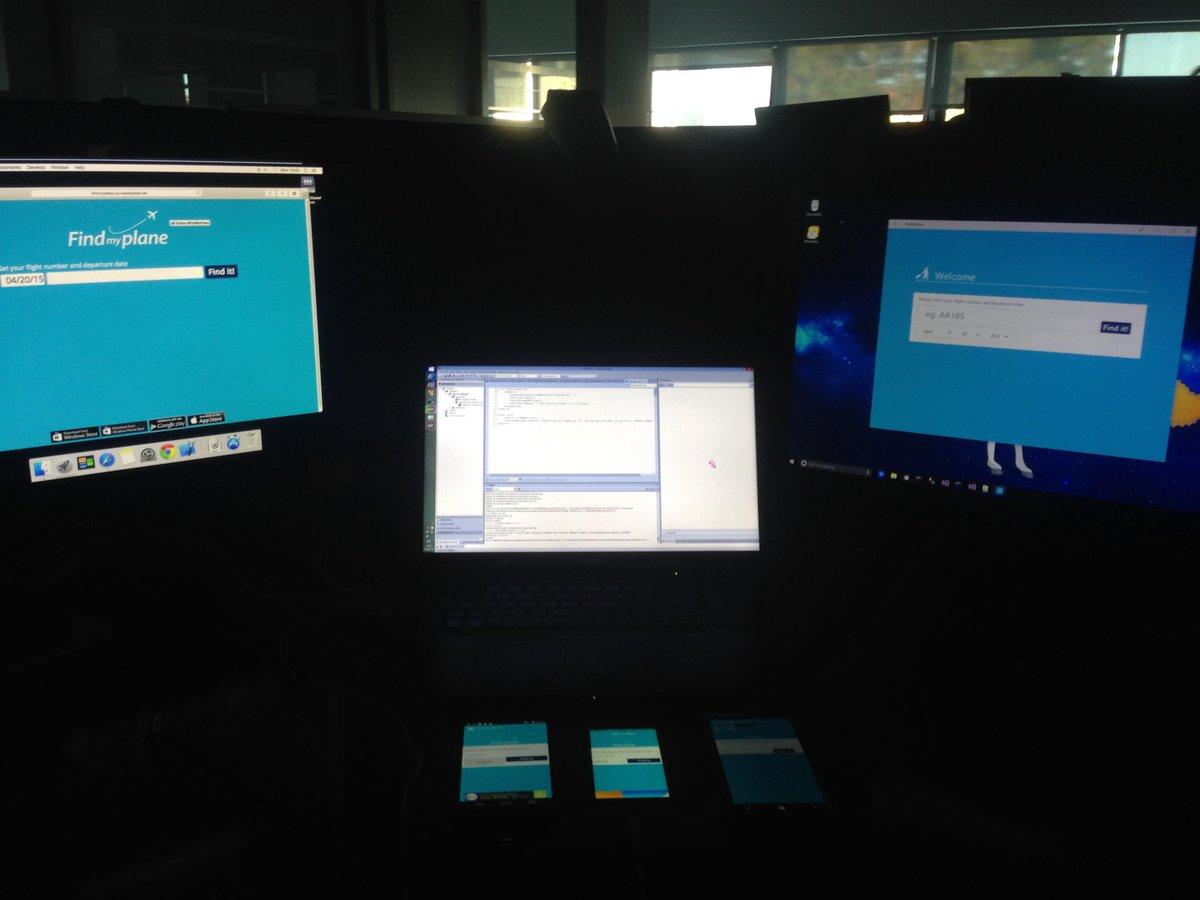 "5 platforms (web, Windows 8 ""Metro"", Android, iOS & WinPhone), 1 tool @GeneXus http://t.co/w3cvd53lOm"
