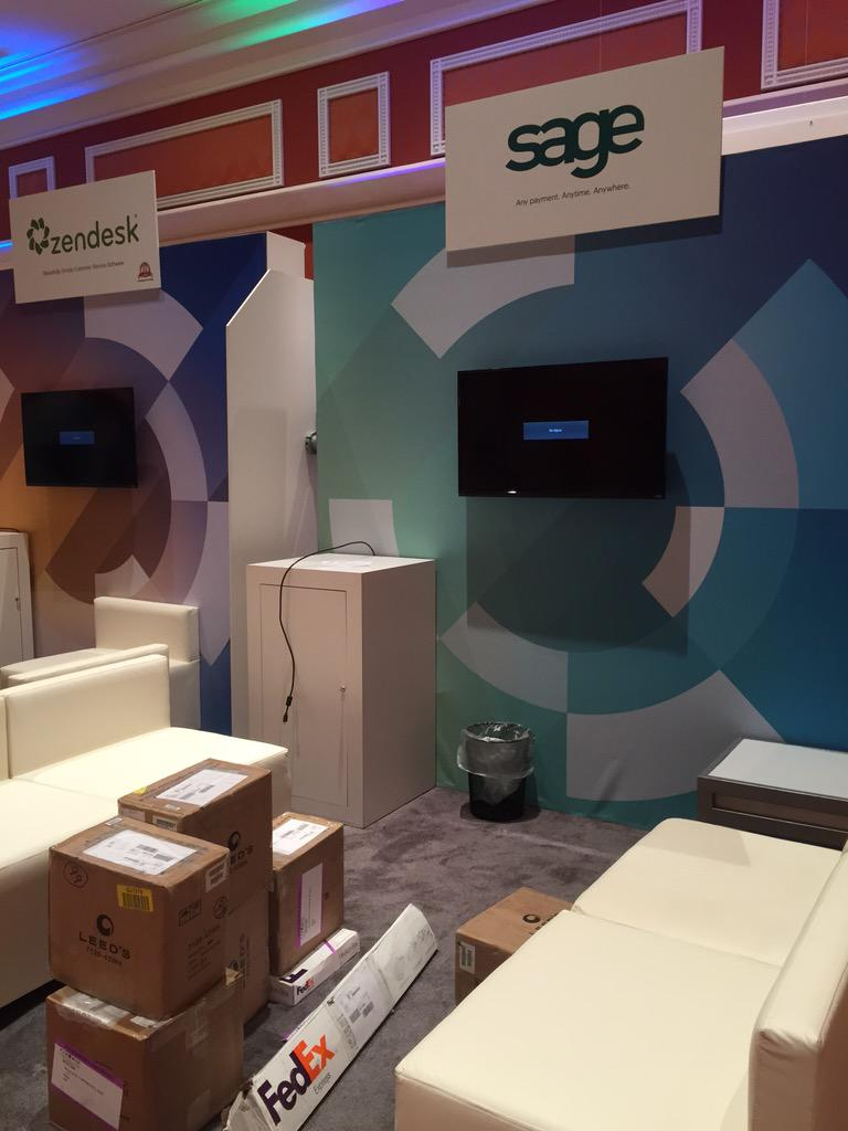 ksdemko: Getting our game on at #MagentoImagine. @SageMagento in the house at booth #223 @SageNAmerica http://t.co/pjnIF4HOOP