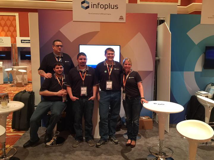 infopluscommerc: Infoplus is pumped to be here.  Right by the stage. #infoplus #imagineCommerce #magento http://t.co/EJP2nOfLwR