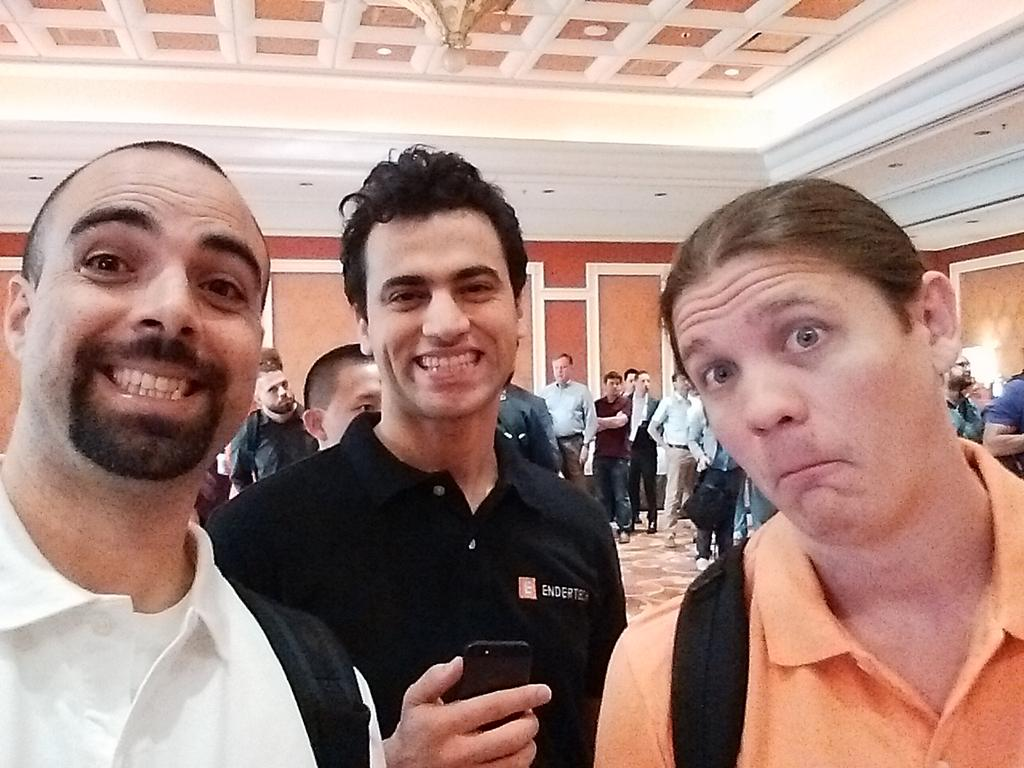 EnderTech: Endertechies happy to be at #ImagineCommerce! http://t.co/XlbWEmT0IH