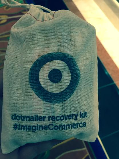 ItsClem: If you overdid it last night.. Grab a recovery kit from the @dotmailer stand #imaginecommerce http://t.co/oFq93UW9Ku