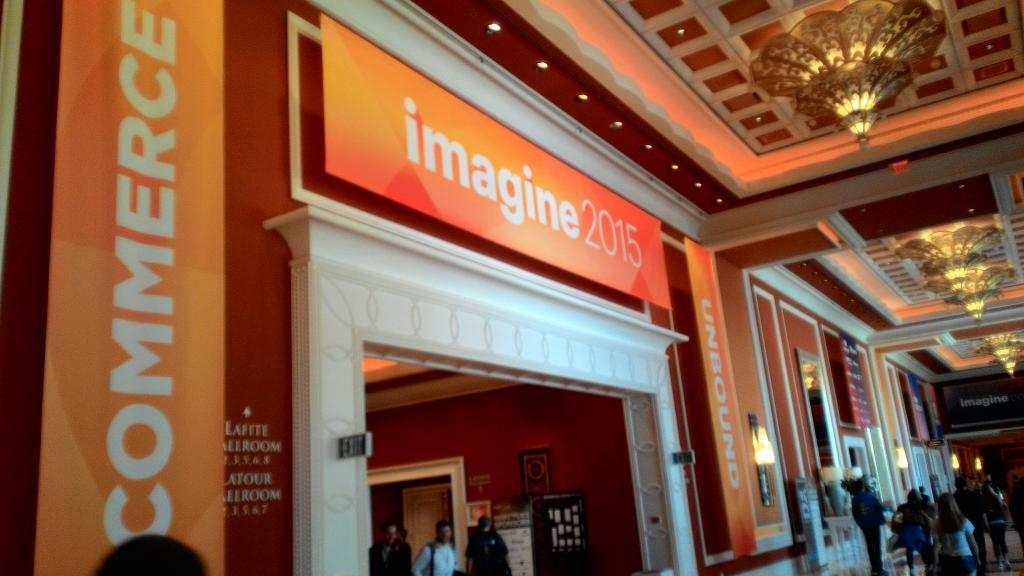 sergey_lysak: #ImagineCommerce started! :) http://t.co/XlbyiHV7Up