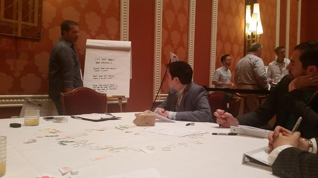 guido: Having fun with the Customer Driven Innovation workshop at #ImagineCommerce http://t.co/KGU54rm6EX
