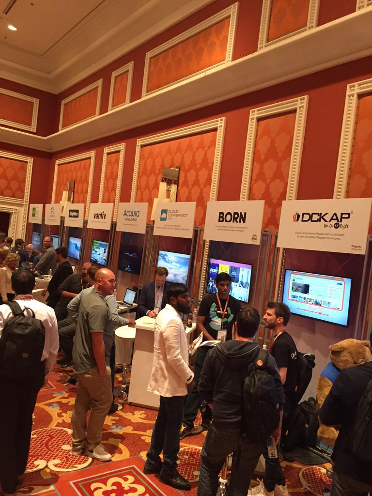 DCKAP: @magento Market place is very busy #ImagineCommerce http://t.co/hhyhWD2j8H