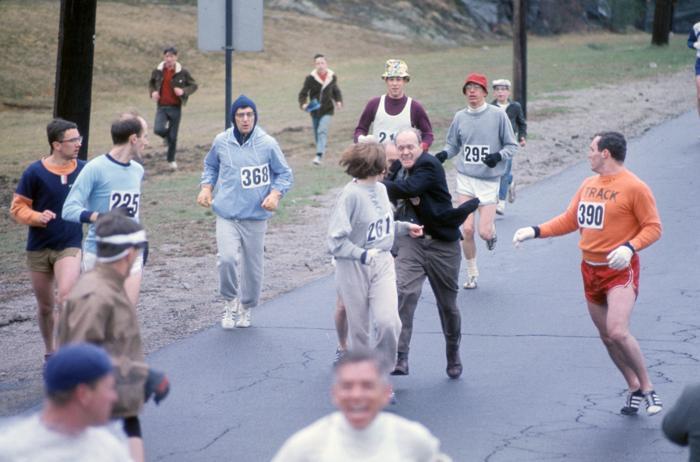 RT @BostonDotCom: Kathrine Switzer on the marathon moment that 'changed millions of women's lives' http://t.co/cWuvUVjxr0 http://t.co/6opiX…