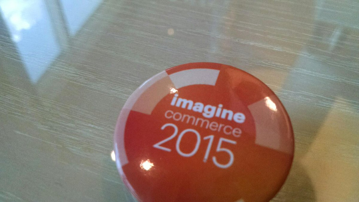 peteprestipino: Great first day at #imaginecommerce; hit me up if you're around. http://t.co/mW1ZmHUdYO
