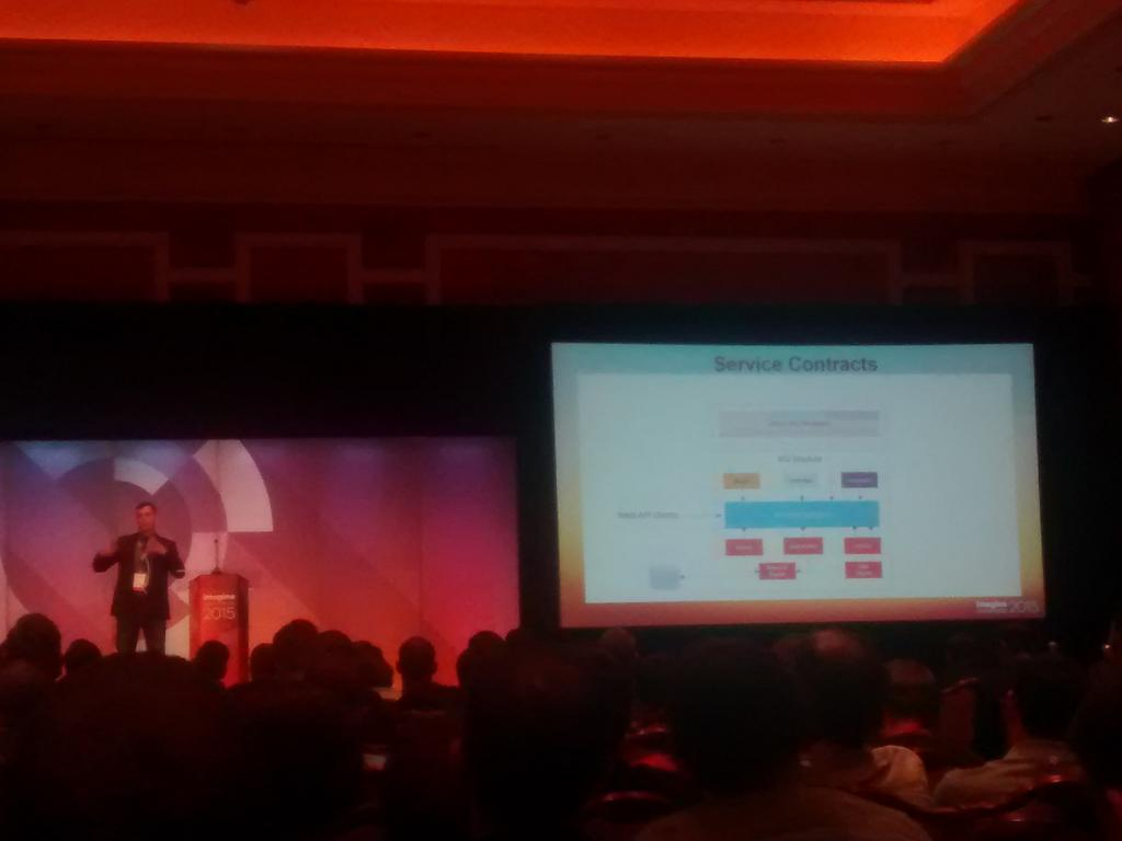 sandermangel: Nice overview of the service contracts in #Magento2. #imagine2015 http://t.co/aMjYSrLFAp