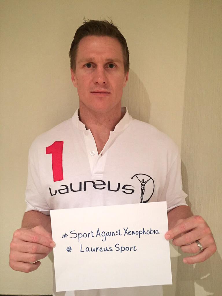 """@LaureusSport: .@bokrugby captain Jean..."