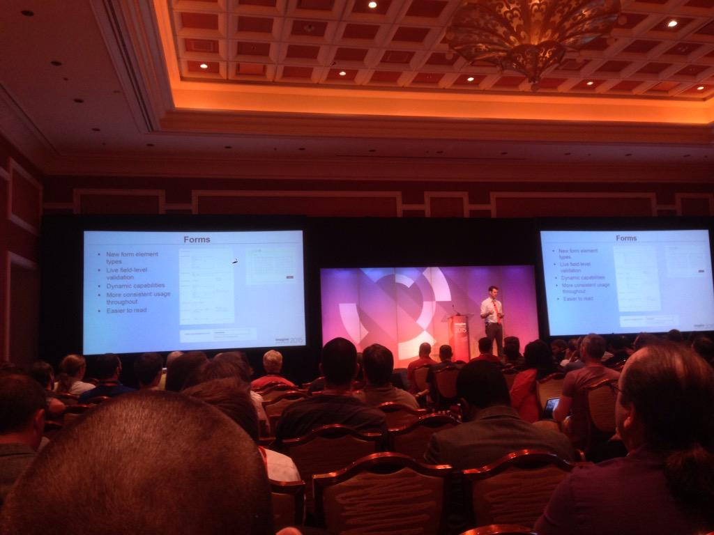 WouterSteen: Full room @ magento 2 deep dive. #imagine2015 http://t.co/iVRn1nC9fB