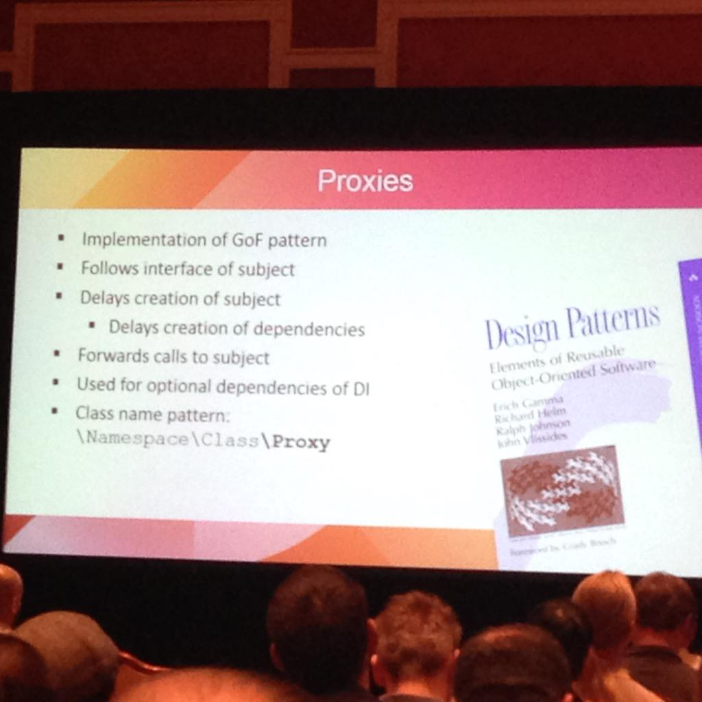 lfolco: I feel like I'm picking up where I left off from my Java days (in a good way)! #Magento2 #ImagineCommerce #GoF http://t.co/IOkWwV9jlu