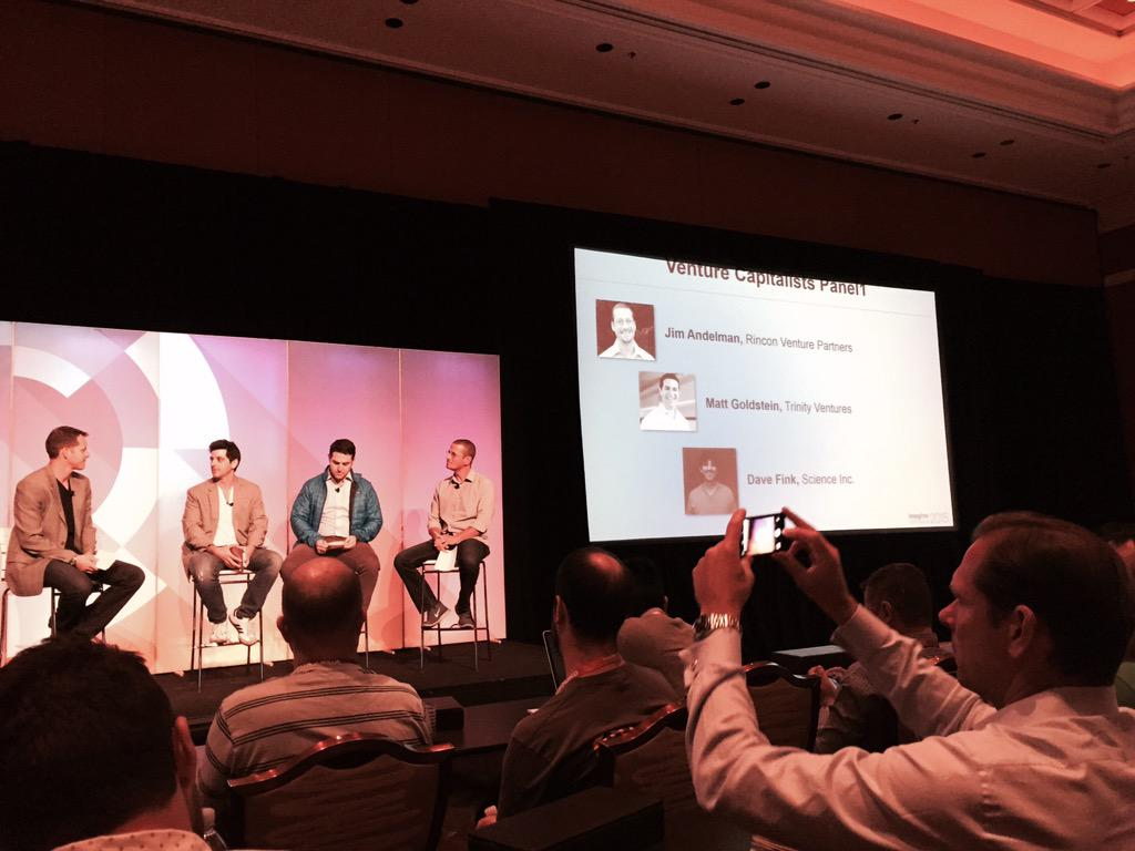 WebShopApps: Packed room here at the VC Panel discussion #ImagineCommerce http://t.co/Gdc5TJvXlN