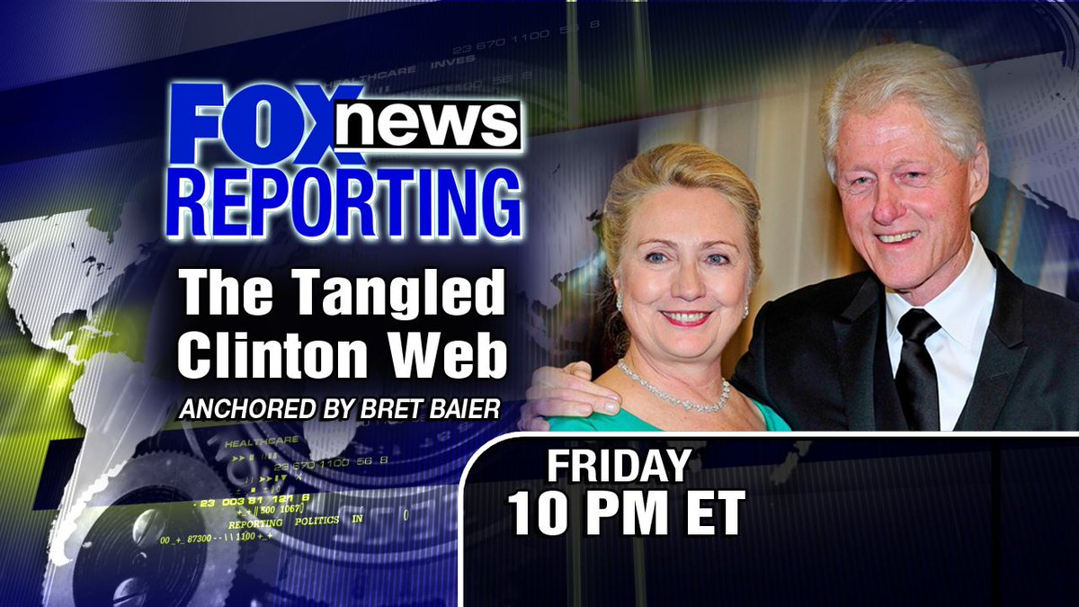 The Tangled Clinton Web Fox News April 24th