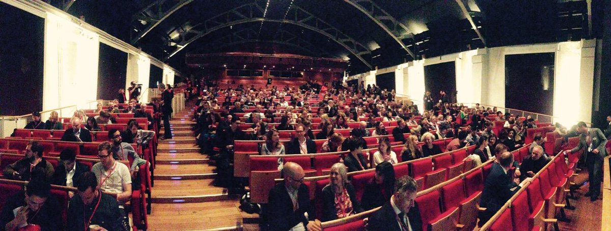 Morning at #MuseumNext, and getting ready for #SociableMuseum http://t.co/MZWDgXOk9a