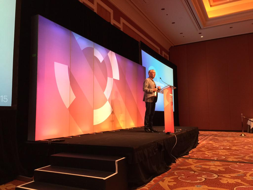 benmarks: 'Open source wins every time' - @chayman at #ImagineCommerce discussing Magento 2 & @eBayEnterprise future. http://t.co/jfFEm4wDkn