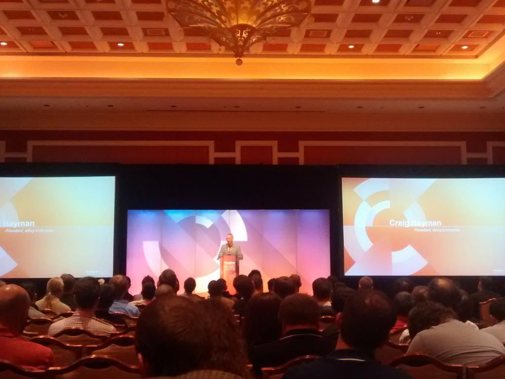 sandermangel: Craig Hayman talking about the path eBay Enterprise is taking #imagine2015 http://t.co/RSTsX5Z6qW
