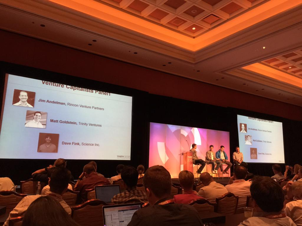 ArroyoLabs: VC panel at #Magento #ImagineCommerce conference http://t.co/2jTy8E1vyU