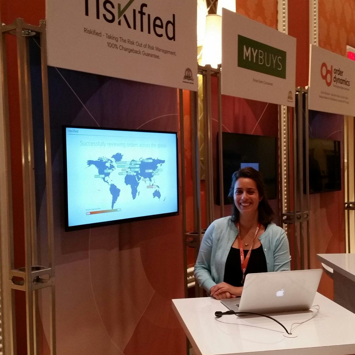 Riskified: Thrilled to be attending & exhibiting @magento #ImagineCommerce this week. Drop by kiosk 3 to meet our team! http://t.co/lV8FsEs8Zs