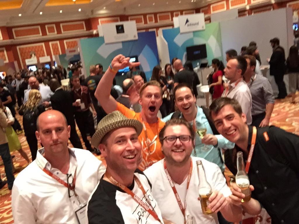 raybogman: Dutch magento team #ImagineCommerce @guido @PeterJaap @Mathijs_Kok @creaminternet http://t.co/CSEHG3CFuW
