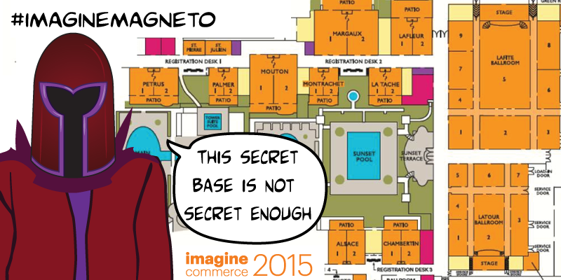LawrenceByrd: (4 of N) Comic: 'Confusion @Magento-Imagine?' nKnow where everything is yet?n#imaginecommerce #imaginemagneto http://t.co/tq0Wt1yXym