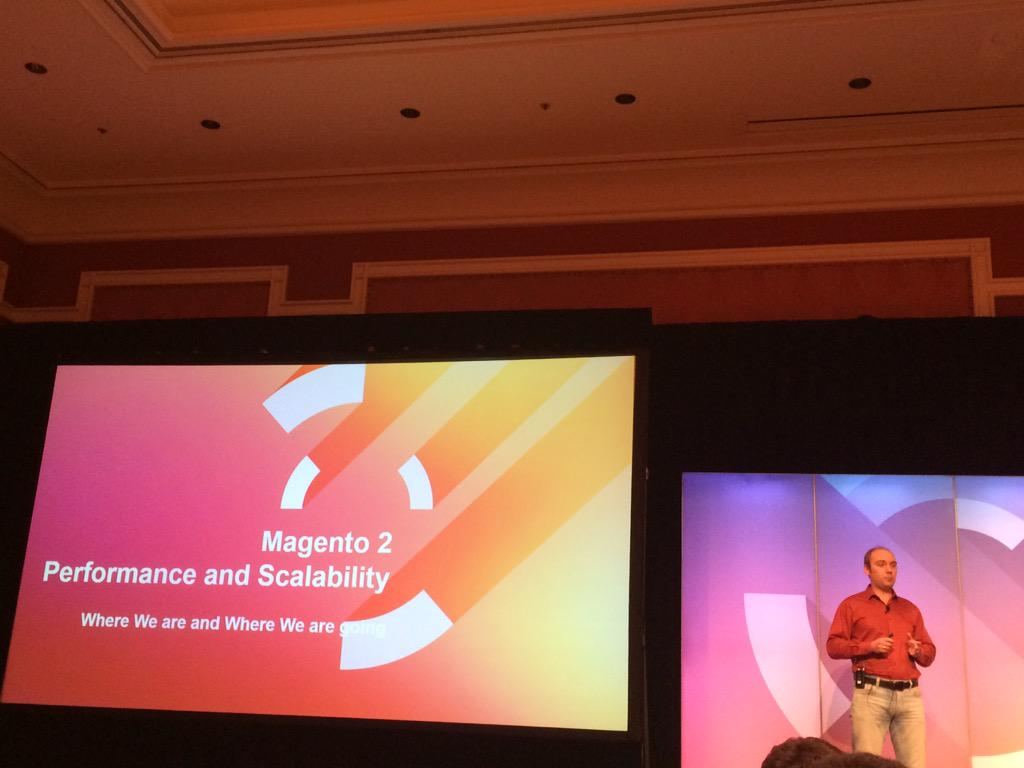DCKAP: @magento 2 performance and scalability #ImagineCommerce http://t.co/cJkMVnEZHQ