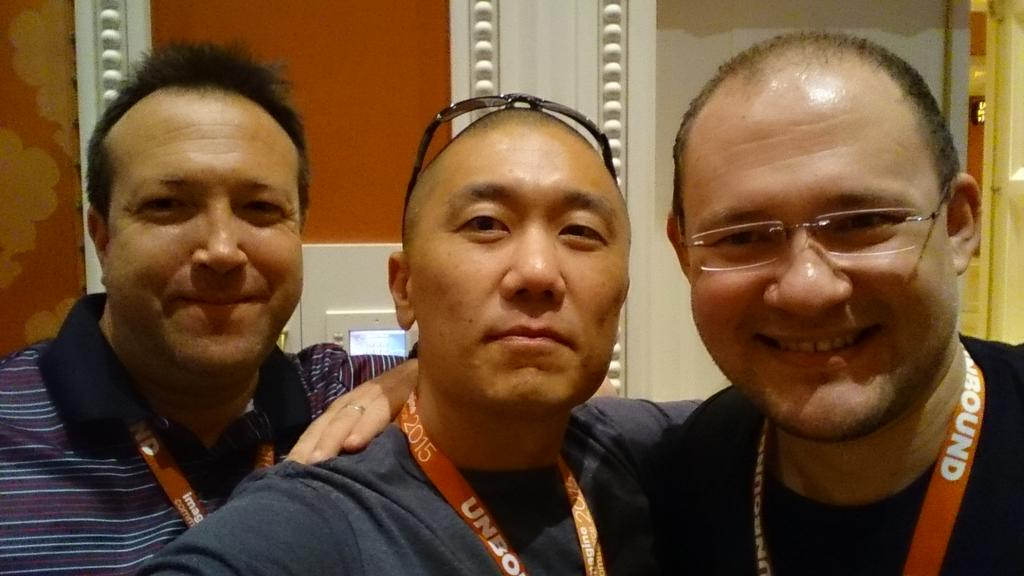 magento_rich: One thing I love about #ImagineCommerce, meeting old friends. #RealMagento #OldSchool http://t.co/ZRol5axmRl