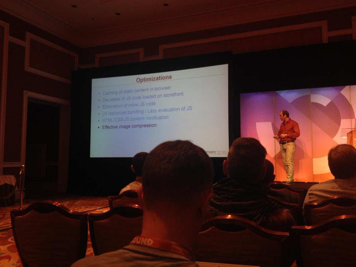 wiktorjarka: A list of some of the optimizations done on Magento 2 in the last 8 months #ImagineCommerce http://t.co/VRe786WU7o