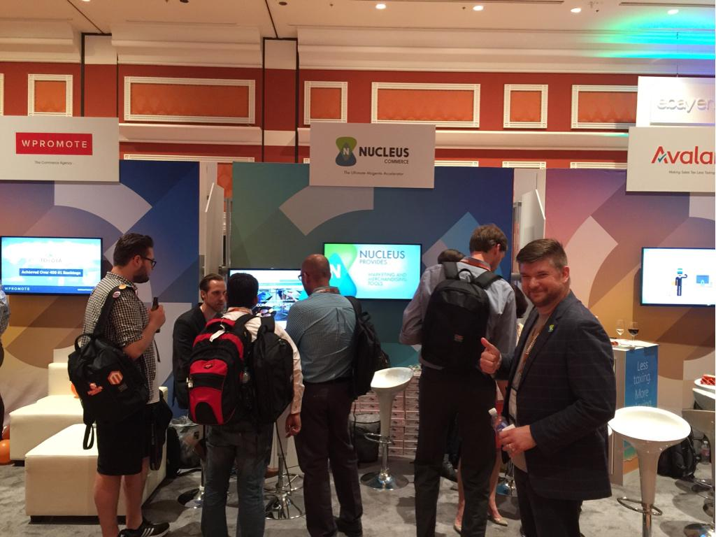 shickles: Great start here at Imagine. Don't forget tonight's  Nucleus launch party. #magentoimagine http://t.co/Wf1KyfhpOG