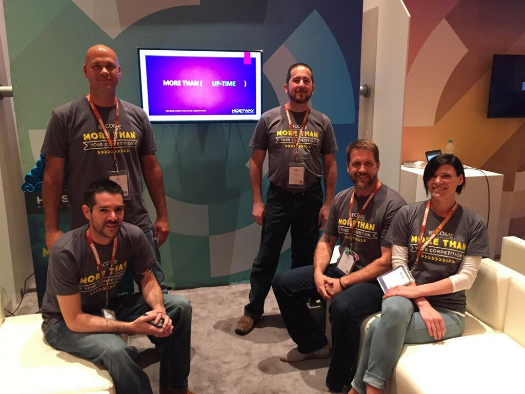 Hostway: All the cool kids are hanging out at booth 419 - go see them! #ImagineCommerce http://t.co/822UYQVrS2