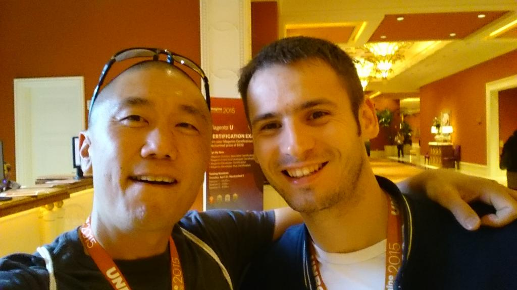 magento_rich: Another old @magento friend. #ImagineCommerce #RealMagento http://t.co/CkVznGVs9K