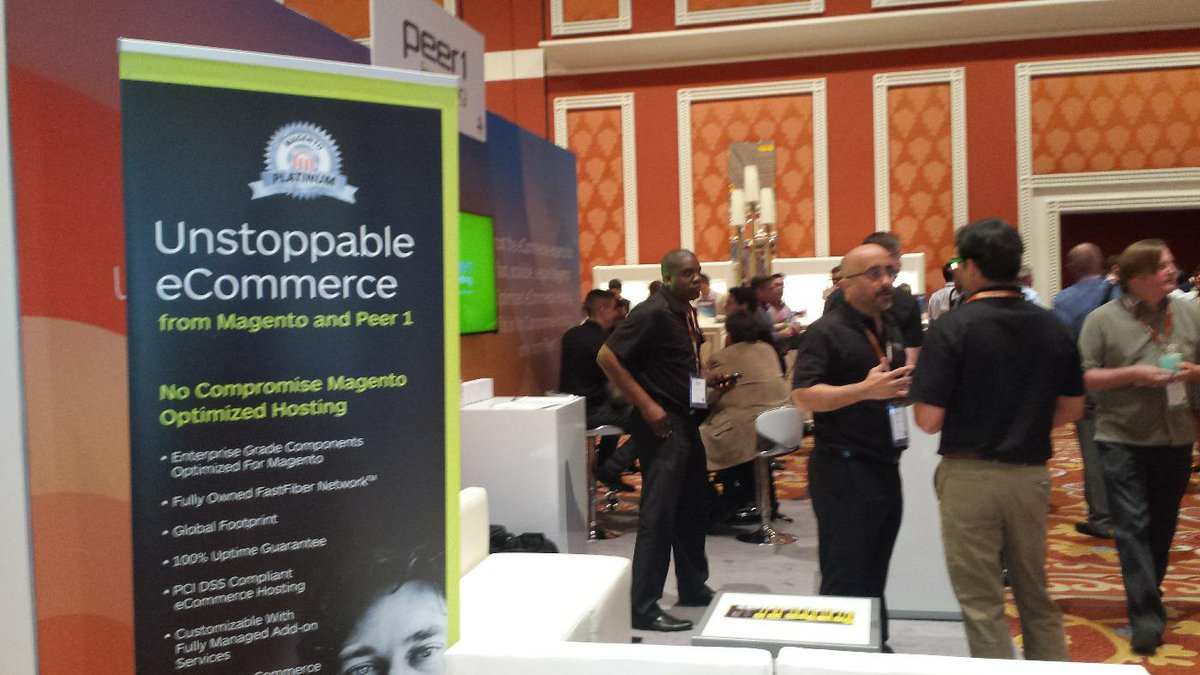 SaraUnderwood02: #ImagineCommerce is in full effect! Stop by the @PEER1 booth #523 to find out more about #UnstoppableEcommerce http://t.co/r1XcZDkoye