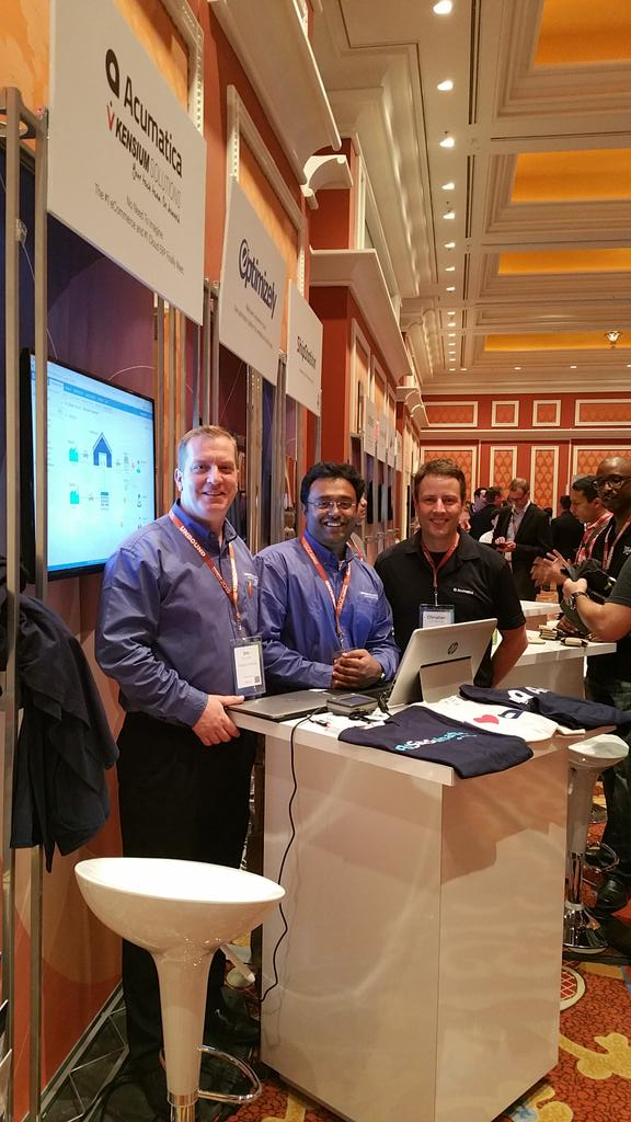 janiali: Full house at the @magentoimagine conference with @Acumatica and @kensium http://t.co/wpRdwJGGlm