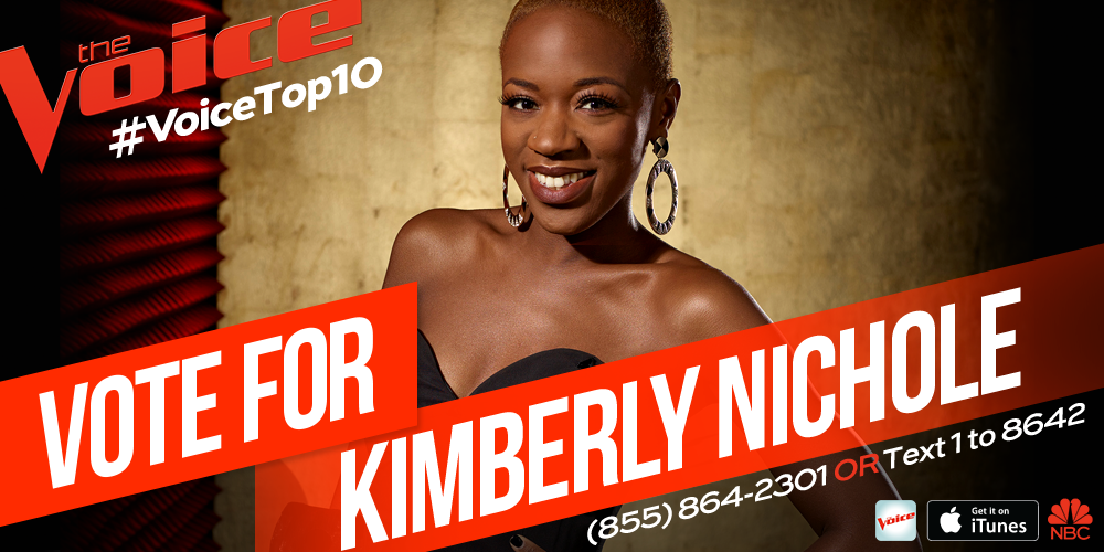 She's on 🔥🔥! RT @NBCTheVoice: RT if @KimNicky got a hold on you and your votes belong to her tonight! #VoiceTop10 http://t.co/Ip4WwEfxxq