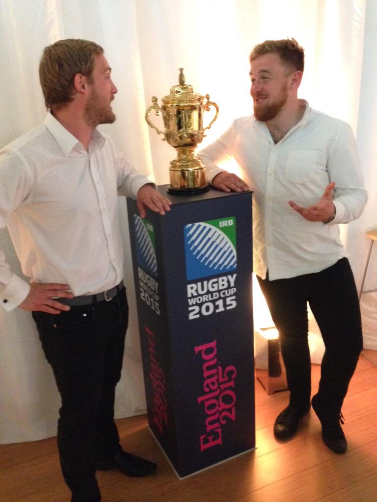 RT @peechii: @teddy569 and Matt discussing @JoeMarler over the World Cup... #RugbyWorks http://t.co/lH1et5vanm