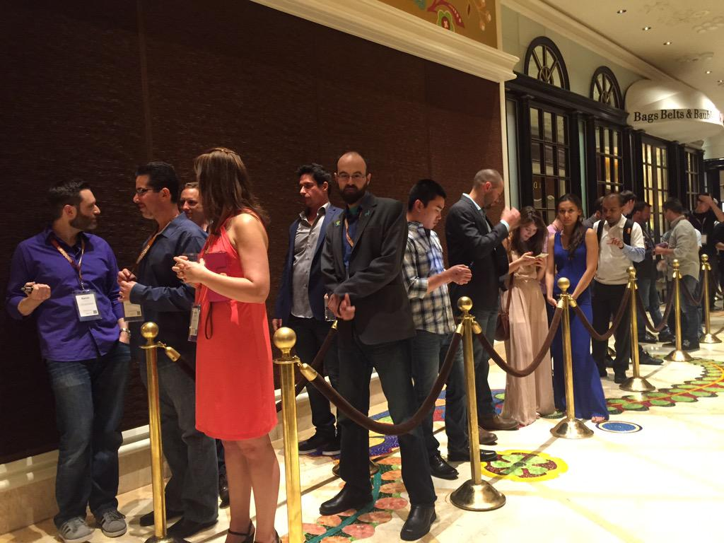 NucleusCommerce: Line's building already! Don't miss the #nucleus launch party! #ImagineCommerce http://t.co/GNBRcDXZxv