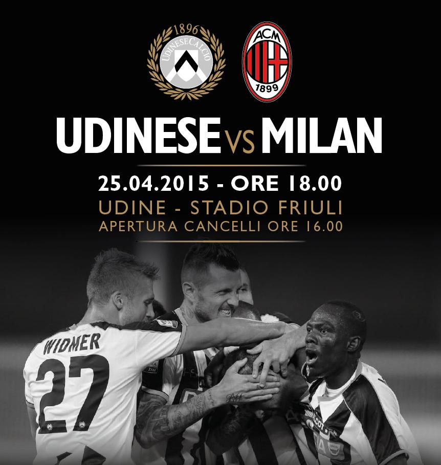 Udinese-Milan Rojadirecta diretta streaming