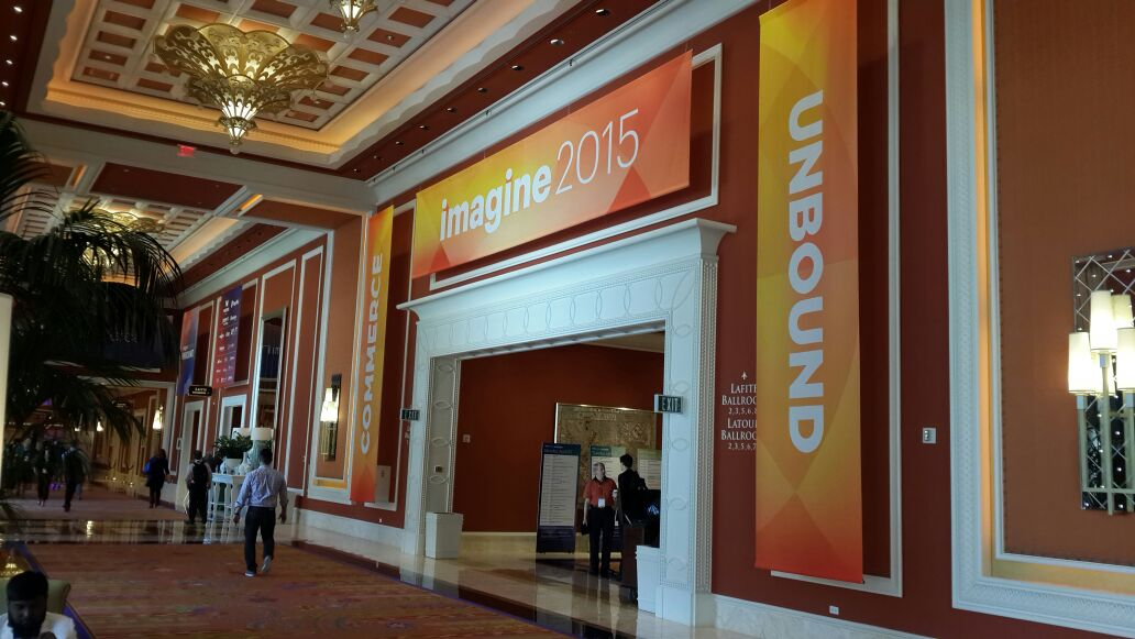 krishtechnolab: It was a great first day of sessions at #ImagineCommerce 2015! We'll see you all bright and early tomorrow. http://t.co/S1Thlpyl0k
