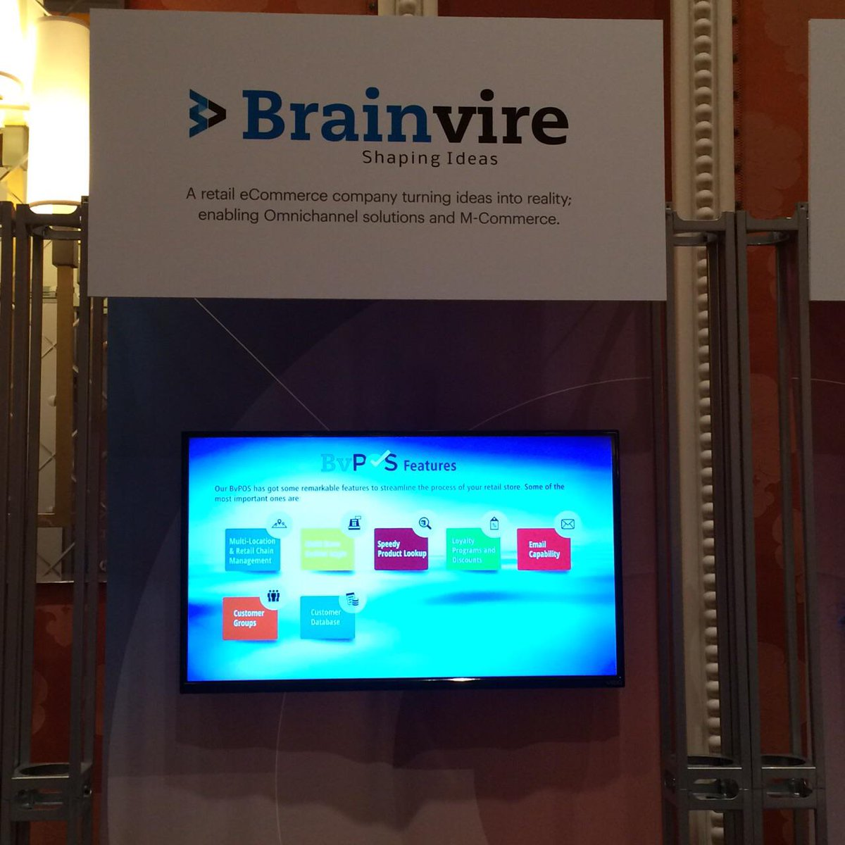 Ecomextension: @Brainvire representing BvPOS – A #PointOfSale System at #MagentoImagine Conference.nMeet us @ Booth #17 #imagine2015 http://t.co/PXjma80EEb