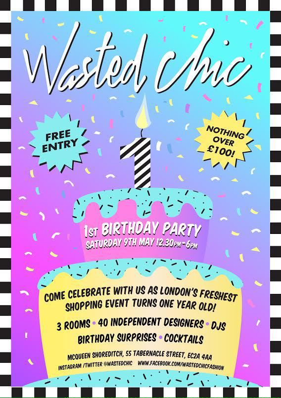 RT @SpinSisterPR: @fashionworked @WastedChic you can meet our gorgeous @Jakki_Degg at the wasted chic birthday 9 May! http://t.co/TYloBICrl3