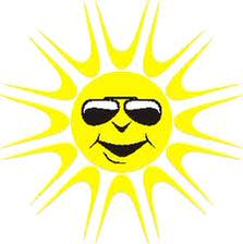 Wonderful day. Dry & sunny for most & very warm. Top temp 20C.The Sun has got his hat on & he's coming out to play ! http://t.co/RPPNGlUNFG