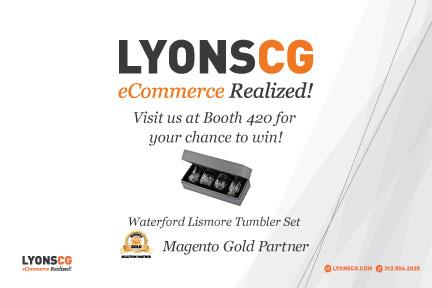 LYONSCG: Don't wanna leave Vegas empty handed? Stop by Booth 420 at #ImagineCommerce to win some beautiful Waterford glasses! http://t.co/KpWafLVCOu
