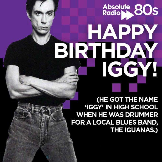 Iggy Pop's Birthday Celebration   HappyBday.to