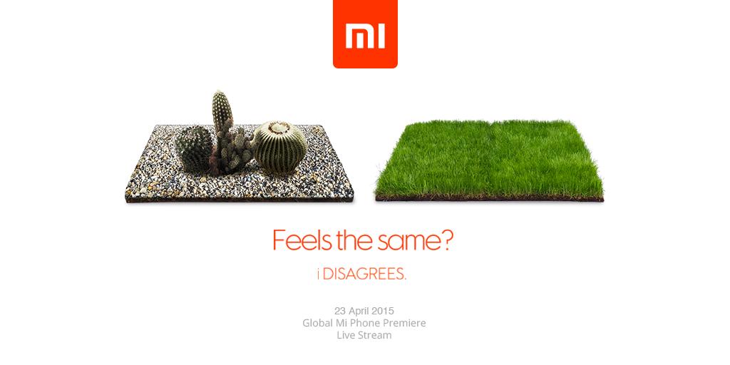 xiaomi, Compte-à-rebours astucieux de Xiaomi, pour le Mi 4i ?