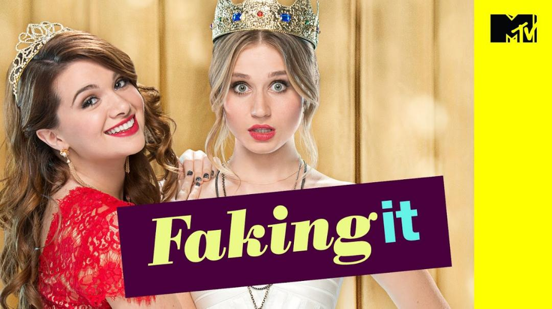 Faking it.