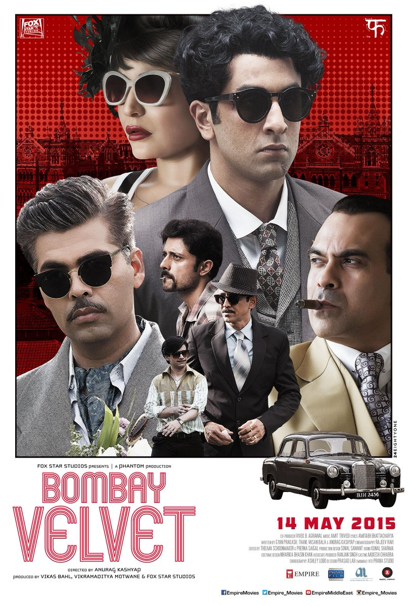 Bombay Velvet (2015) Movie Poster No. 4