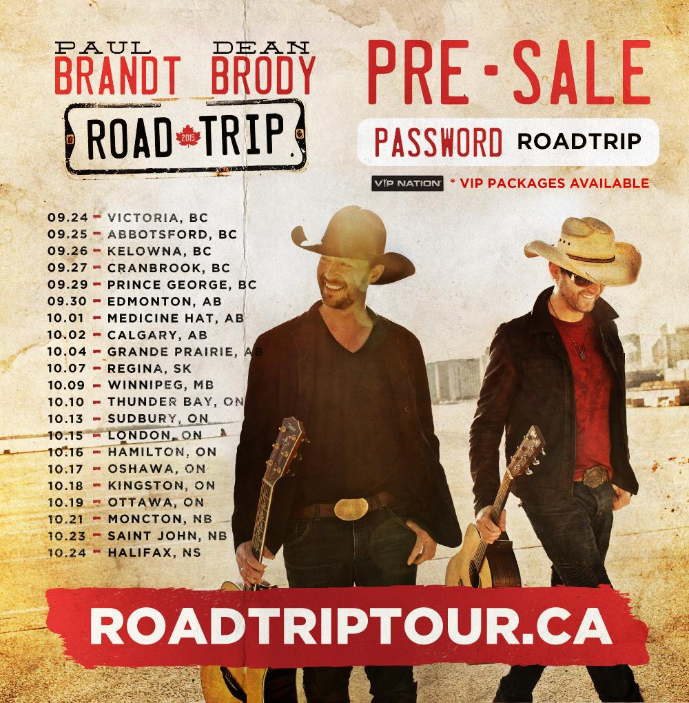 .@deanbrody and I are taking the #RoadTripTour across Canada! RSVP to view all dates and  info!http://t.co/c7wmD80ebE http://t.co/WQAV4f01io