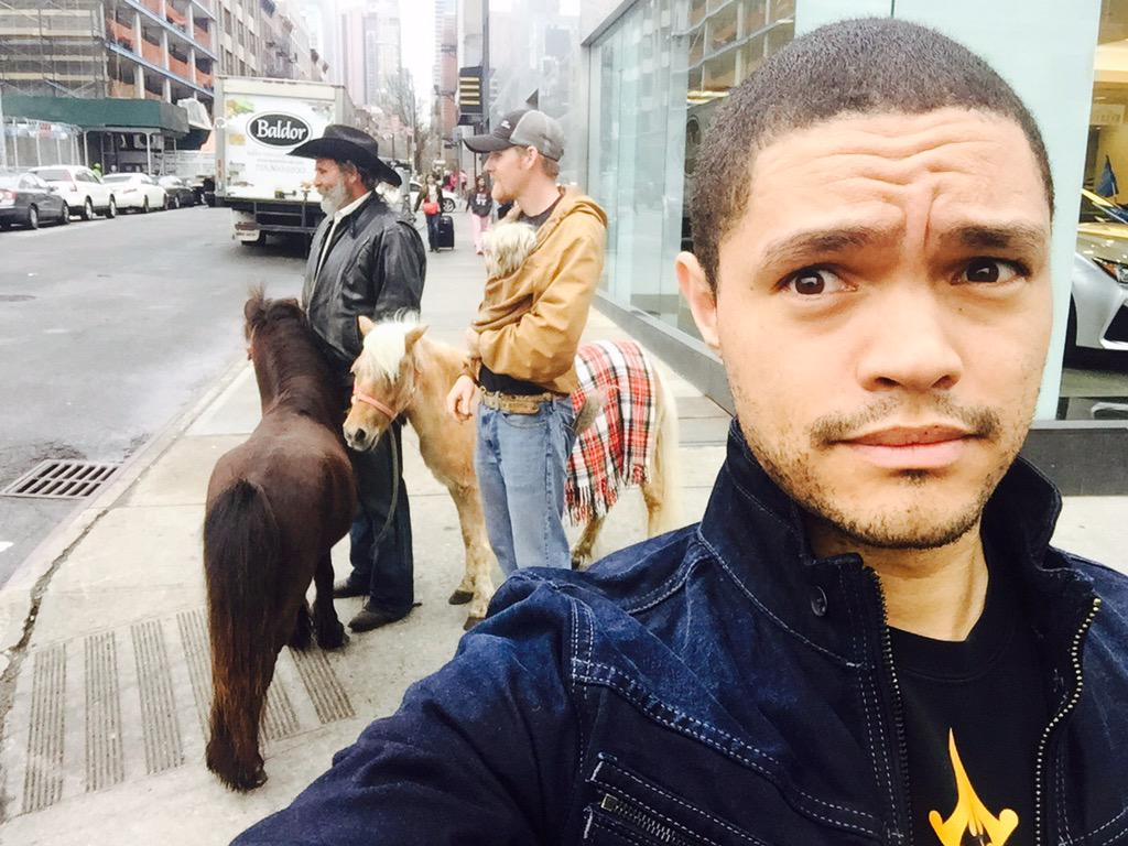 Trevor Noah On Twitter Quot Saw Two Guys Walking Their Ponies