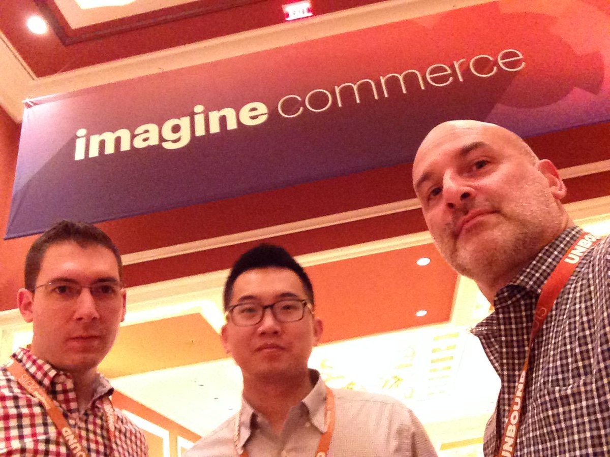 onerockwellny: Game faces on. We're ready for another big day at #MagentoImagine! http://t.co/z8x7IYinX5