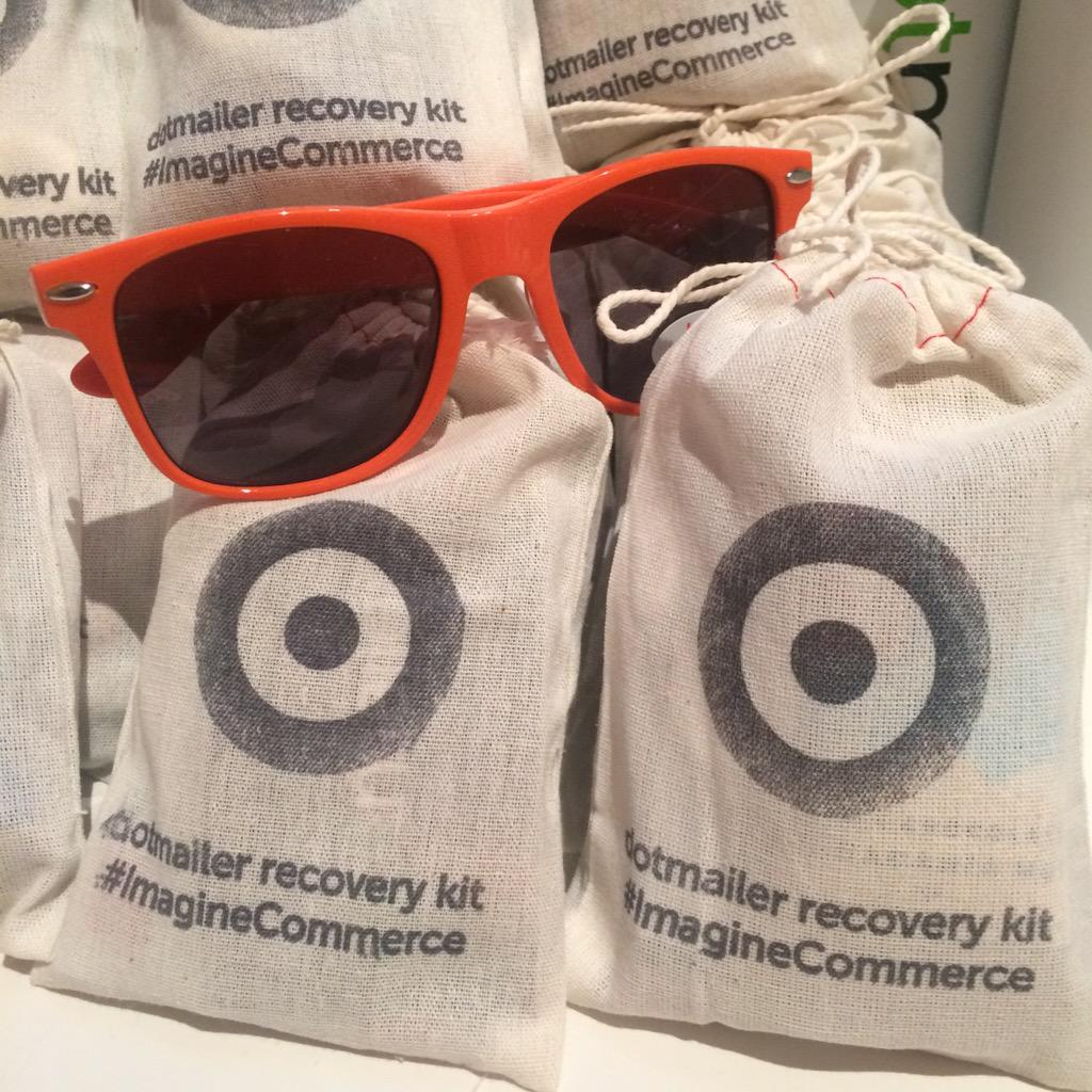 dotmailer: Sunglasses & Advil, last night was made real.Pick up a hangover kit from us & sunnies from @avalara #ImagineCommerce http://t.co/Pm5OIYlYEj