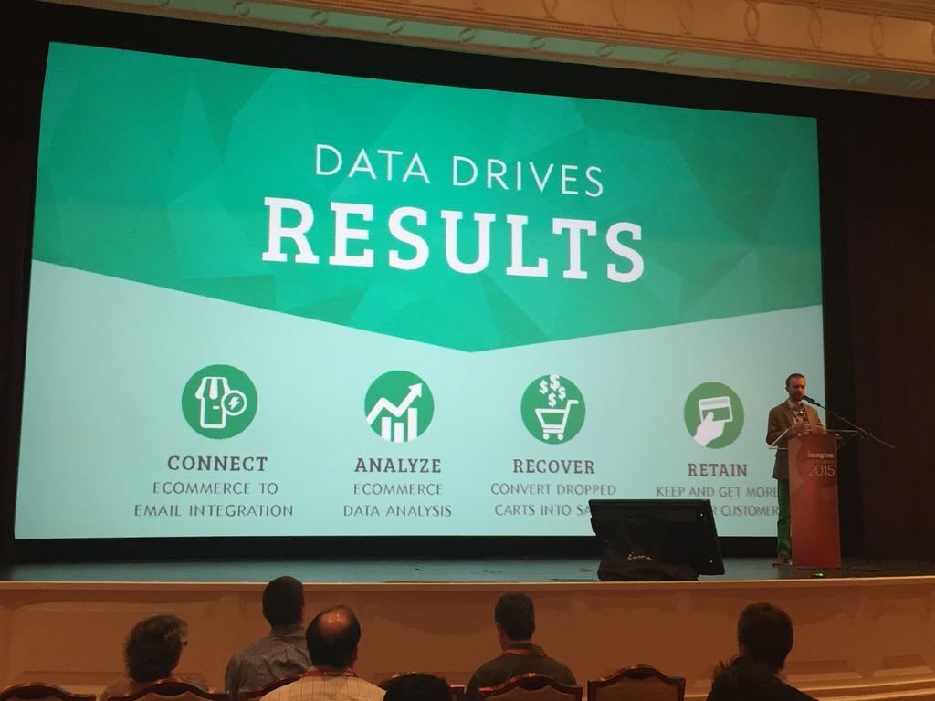 chelsearaegen: Data drives results @windsorcircle #ImagineCommerce http://t.co/zi1LU7q1fi